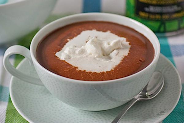 Ζεστή σοκολάτα με καρύδα