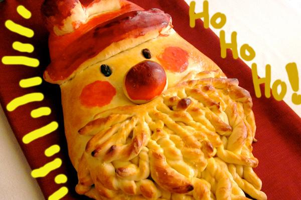 Άγιος Βασίλης από ψωμί