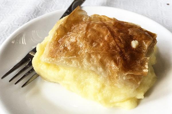 Γαλακτομπούρεκο συνταγή
