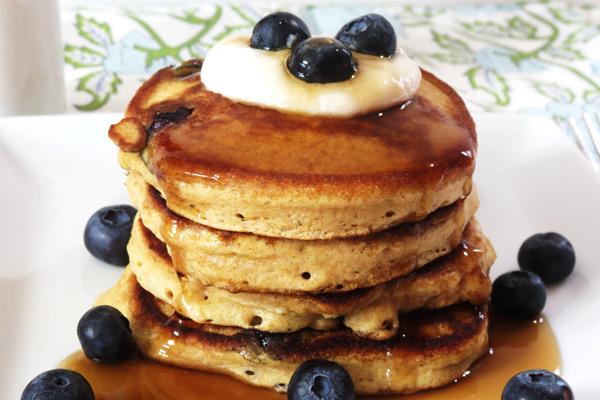 Pancakes χωρίς γλουτένη