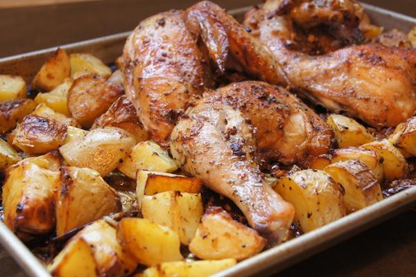 Συνταγές με το χθεσινό κοτόπουλο