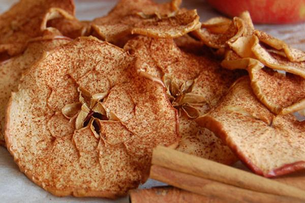 Υγιεινά πατατάκια μήλου συνταγή