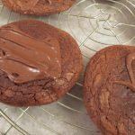 Cookies με πραλίνα φουντουκιού