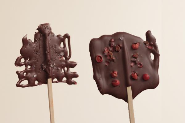 Γλειφιτζούρια με σοκολάτα