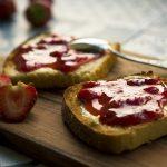Μαρμελάδα φράουλα και μήλο