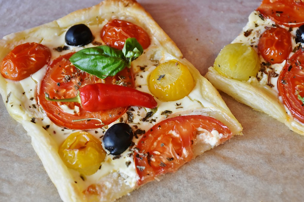Τάρτα με ντομάτα Συνταγή