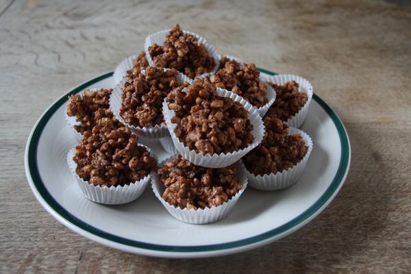Σοκολατάκια με ξηρούς καρπούς