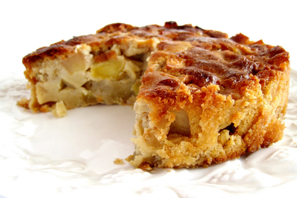 Νηστίσιμη μηλόπιτα