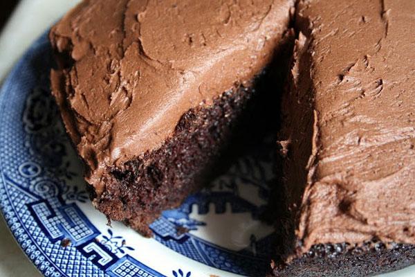 Τούρτα με τριπλή σοκολάτα