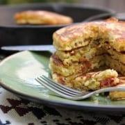 Αλμυρές τηγανίτες (αλμυρά pancakes)