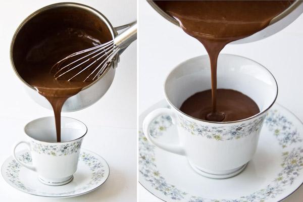 Η αυθεντική γαλλική ζεστή σοκολάτα