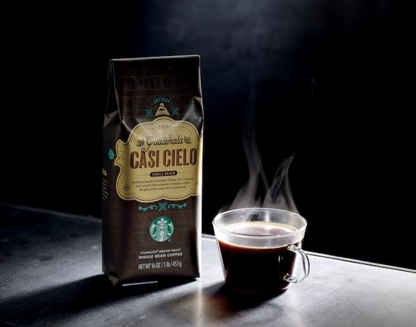 Διαγωνισμός Starbucks Guatemala Casi Cielo