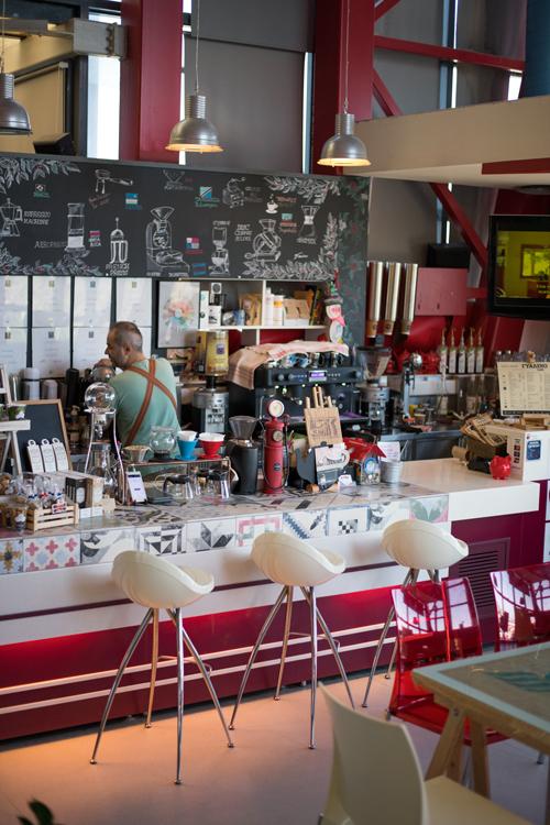 Το Brew Bar στο Γυάλινο Καφέ