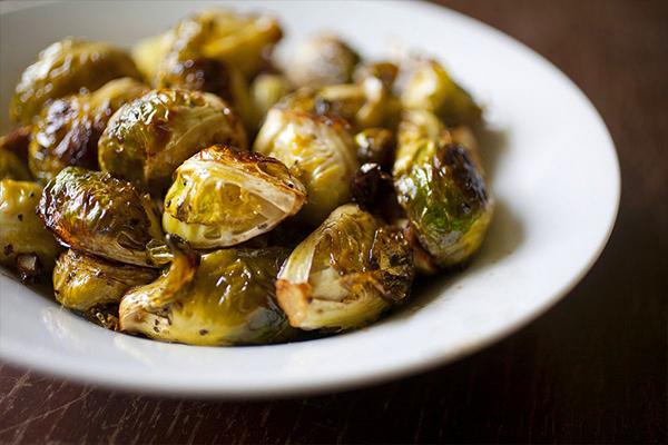 Λαχανάκια Βρυξελλών στο φούρνο