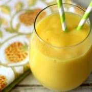 Smoothie μπανάνα και μάνγκο