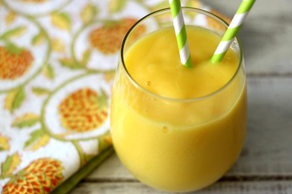 Smoothie μπανάνα και μανγκο