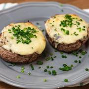 Μανιτάρια γεμιστά με τυρί