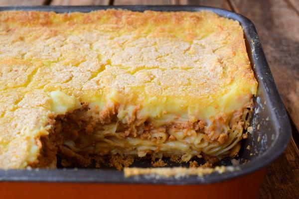 Νηστίσιμο παστίτσιο συνταγή
