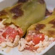 Πιπεριές γεμιστές με τυρί
