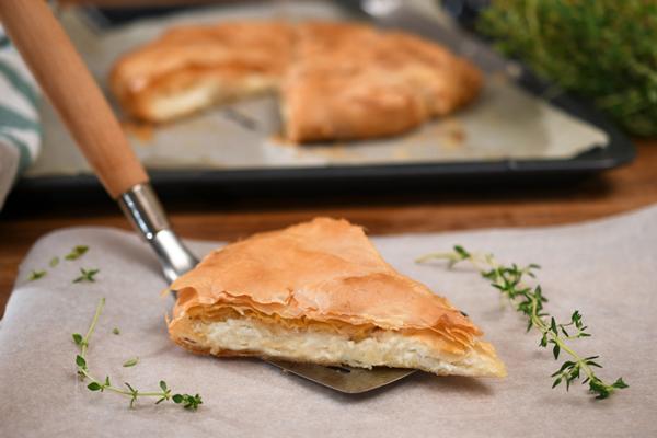 Πίτα Μετσόβου με τυρί