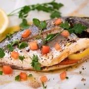 Ψάρι στη λαδόκολλα Συνταγή
