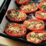 Ψητές ντομάτες Συνταγή
