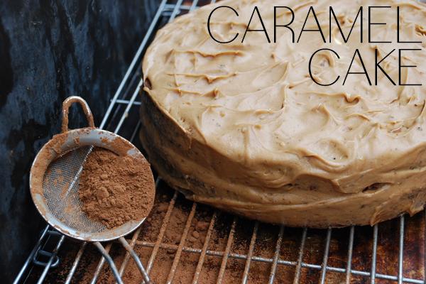Kέικ καραμέλας Συνταγή