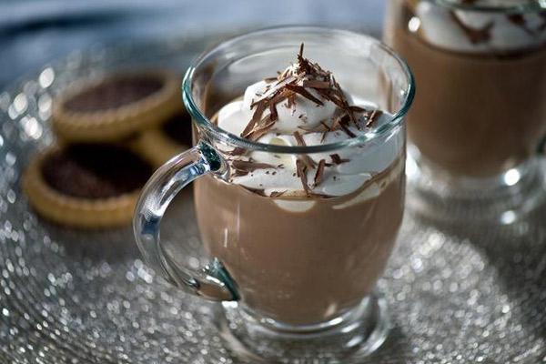 Ιρλανδική ζεστή σοκολάτα