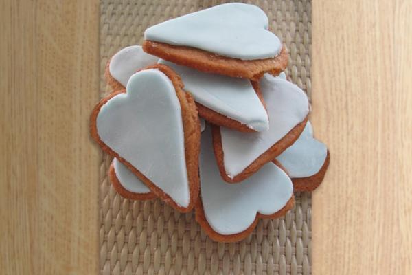 Τραγανά μπισκότα βανίλιας