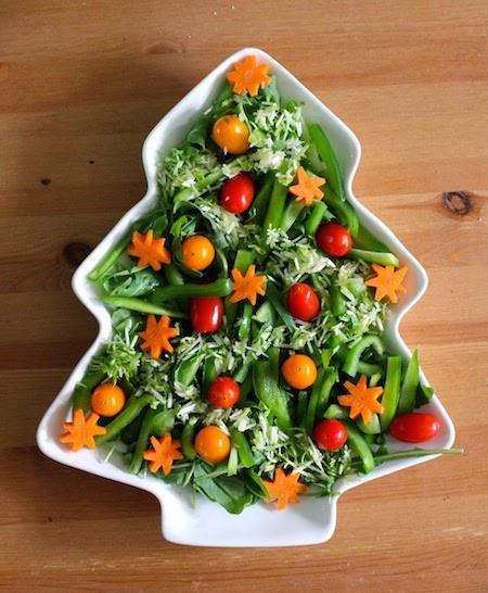 10 υπέροχες χριστουγεννιάτικες σαλάτες