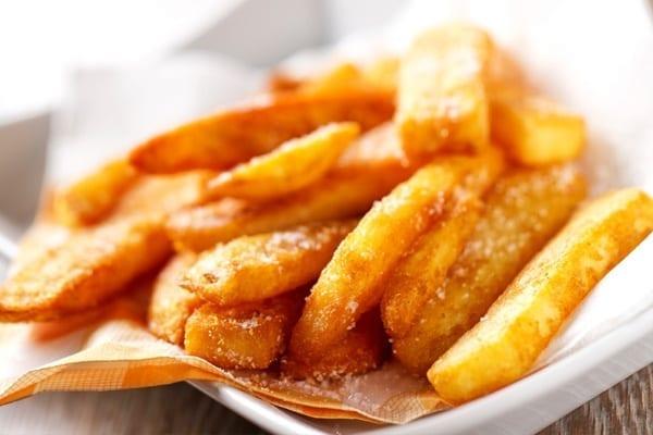 Τηγανητές πατάτες ακρυλαμίδιο